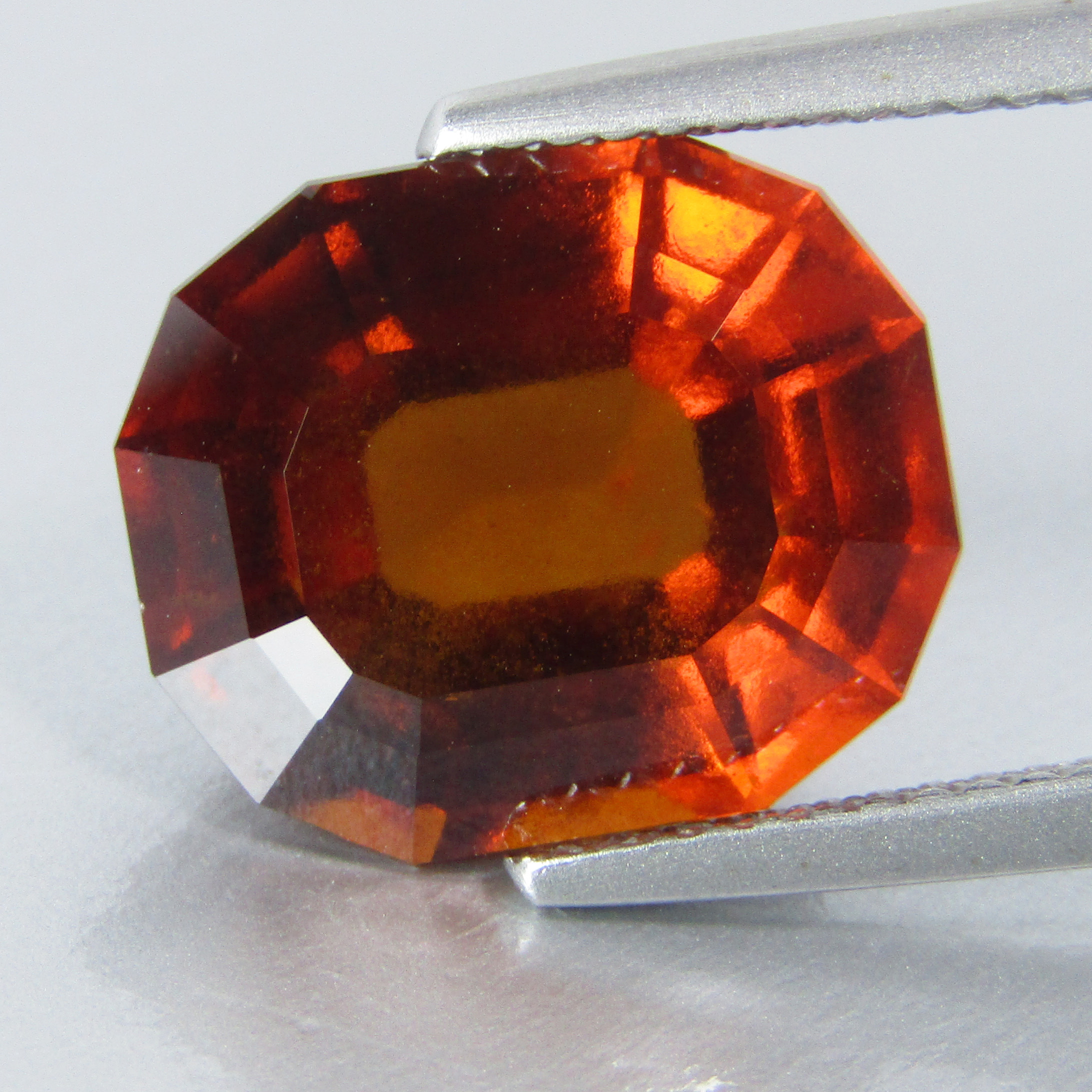 Awesome Quality 77 Carats Beautiful Color Hessonite Garnet Cut Stones Good Quality from Afghanistan
